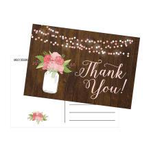 Vasen-Blumen danken Ihnen, Karten-Hochzeits-Einladung zu jäten