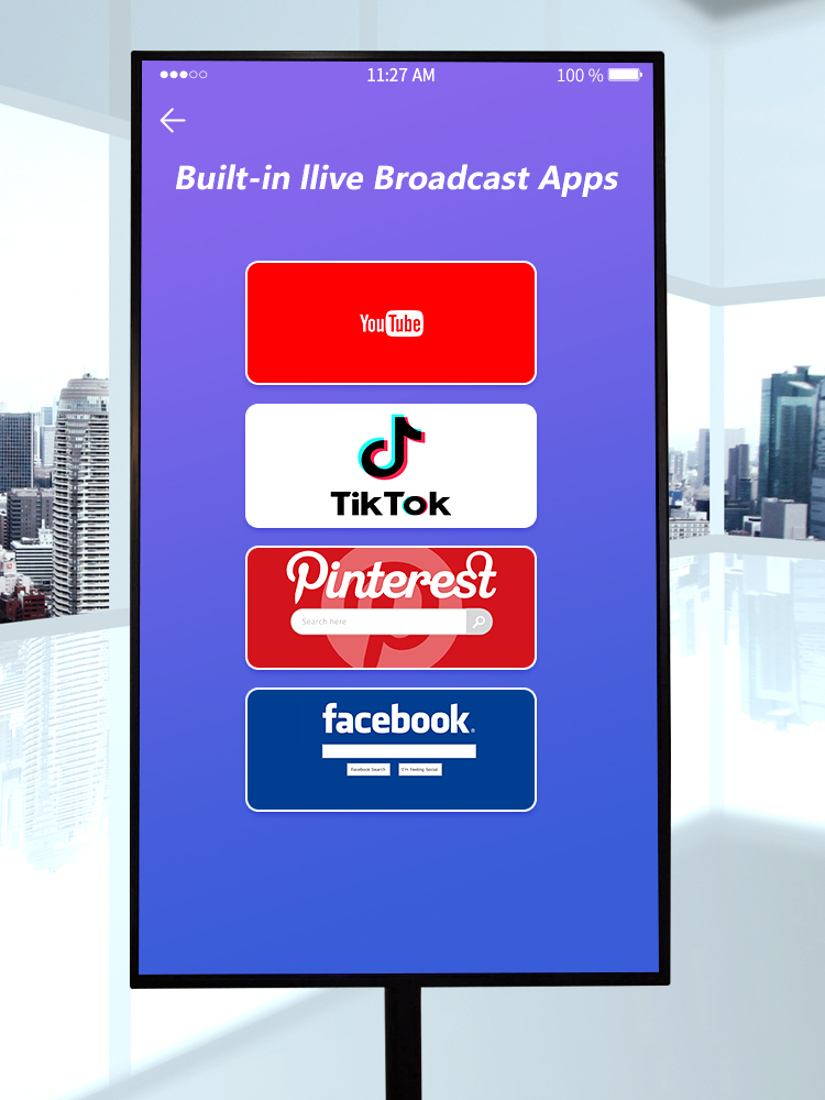 live broadcast touch screen 05
