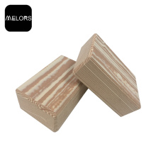 Ejercicio Fitness Wood Grain EVA Foam Yoga Block
