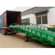 mobile container load ramp with 3t-10t