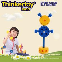 Дошкольная образовательная пластиковая игрушка Inddor DIY Open-End