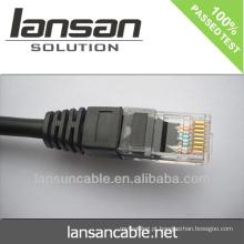Cat6 BC / CCA / CCS cabo de LAN plana UTP