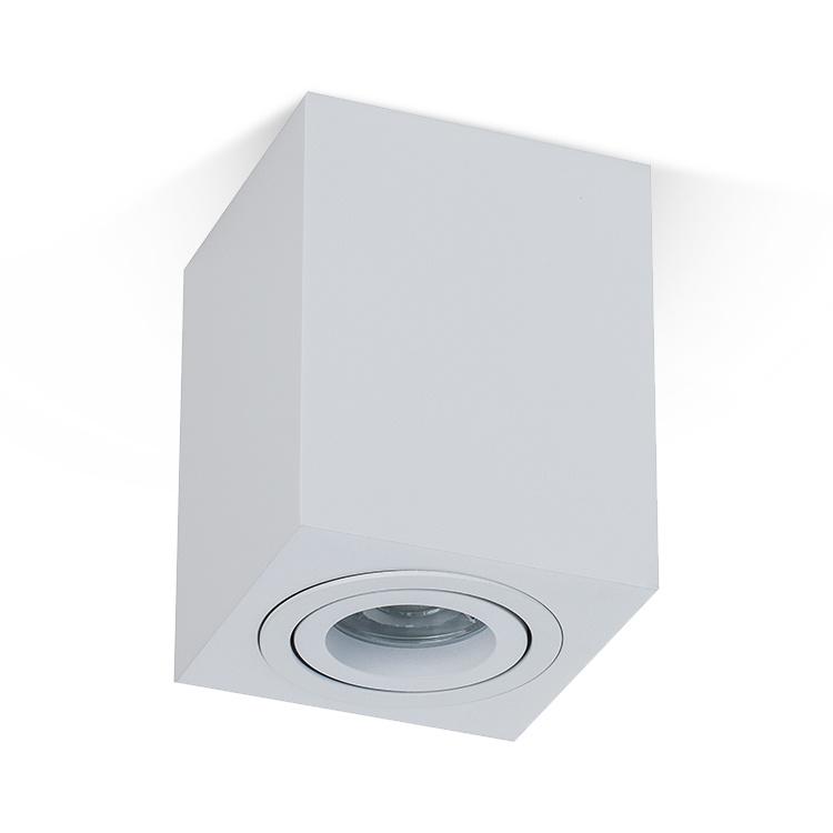 Led surface mounted spotlight 90*90MM GU10 mount ceiling light downlight fixture