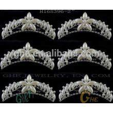 Оптовая мини-звезда Rhinestone тиара корону