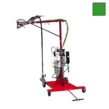 Machine de pulvérisation itinérante de résine de fibre de verre avec pistolet