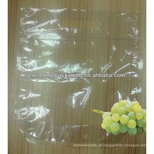 saco de plástico com furos para frutas / embalagem de uvas saco com furos / sacos perfurados