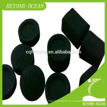 carvão vegetal de shisha cúbico de bambu natural
