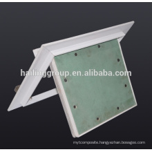 Japan Type Aluminum Spring Latch Access Panel With Gypsum Board