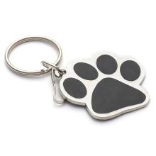 China Custom Enamel Metal Keychain Star Button Badge Hot Selling Ring Key