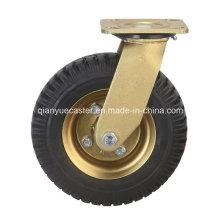 Heavy Duty Pneumatic Rubber Caster Wheel