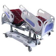 Cama de hospital profesional de 5 funciones de ICU