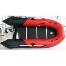 PVC-aufblasbares Fischerboot, Fluss-Boot, aufblasbares Boot