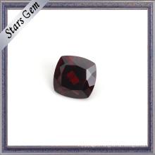 Perfect Blood Red Cushion Natural Garnet Gemstone