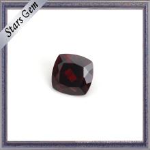 Идеальный Кроваво-Красный Валик Натуральный Гранат Драгоценный Камень