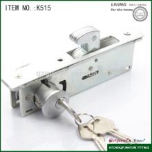 hot sell furniture hardware push lock for sliding door
