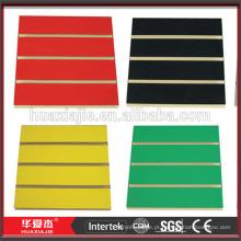 Perfil de parede em PVC painel de parede decorativo em PVC