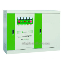 Regulador / estabilizador de voltaje de la corriente alterna de la energía de la serie SBW-350k de tres fases de encargo