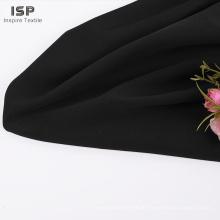 solide gefärbte Kleidung Polyester Spandex Muster Stoff