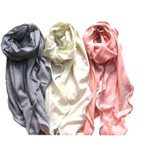 100%Cashmere Rolly Edge Fashion Shawl