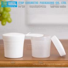 WJ-XR Serie Tasse Form 50g und 100g hervorragende Qualität Farbe anpassbare attraktive umweltfreundliche pp kosmetische Plastikglas