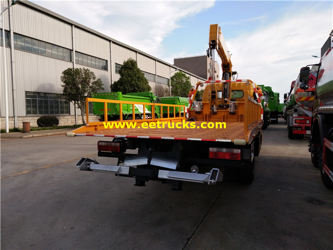 DONGFENG Tow Trucks mounted Cranes