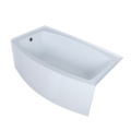5 Skirted Corner Alcove Tub