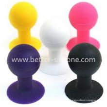 Suporte de bola de sucção de silicone para o telefone