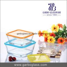Panneau de perforation en verre décalé avec une forme uniforme