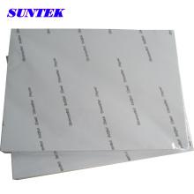 Papel de impressão de transferência de calor de cor escura A4 para plástico (STC-T03)