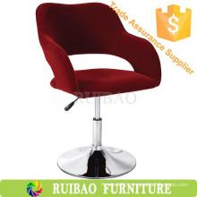 Huzhou Swivel Tub Chair Fabric Bar Chair Stool