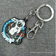 Atacado PVC Rubberized 2D / 3D Keyring / Keychain