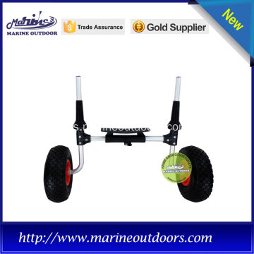 Sentado de aluminio en el carro superior para kayak sit-on-top o scupper kayak