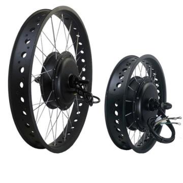 26 '' 72v 3000w kits de conversão de bicicleta elétrica gorda