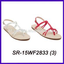 Nueva sandalia del diseño de la sandalia de las mujeres de la señora para la sandalia de la manera de las muchachas