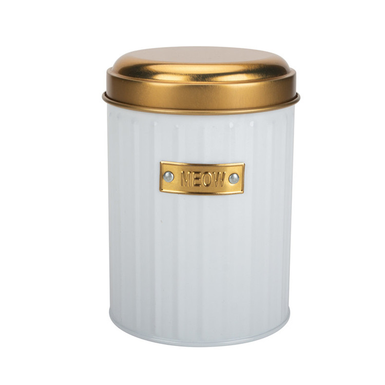 Kitchen Storage 3-Piece Metal Canister