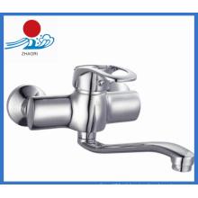 Misturador de cozinha de parede torneira de água de bronze (ZR21703)