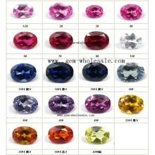 Создано Ruby и Sapphire для ювелирных изделий (Cro1102)