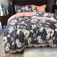 Home Product Fashion Style Bedding Set Cotton Brushed Fabric Comfortable for Queen Bed Duvet Cover