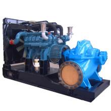 1260rpm Diesle Gas Mixed Dual Fuel Water Pump Generator