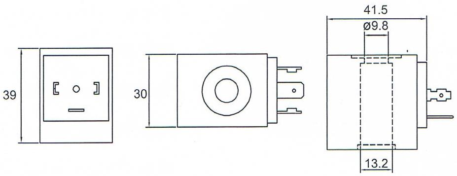 Dimension of BB13239027 Solenoid Coil:
