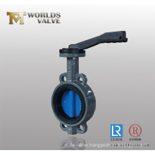 Painting Disc Wafer Type Butterfly Valve