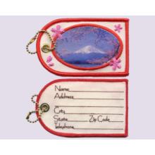 Mount FUJI- Embroidery + Sublimation, Luggage Tag