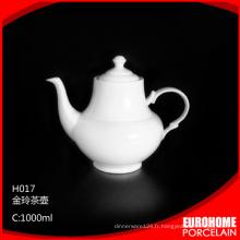en vrac acheter de théière en porcelaine de Chine de haute qualité