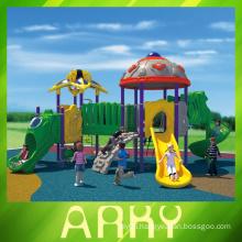 Children love outdoor slide/challenging playground equipment for school use