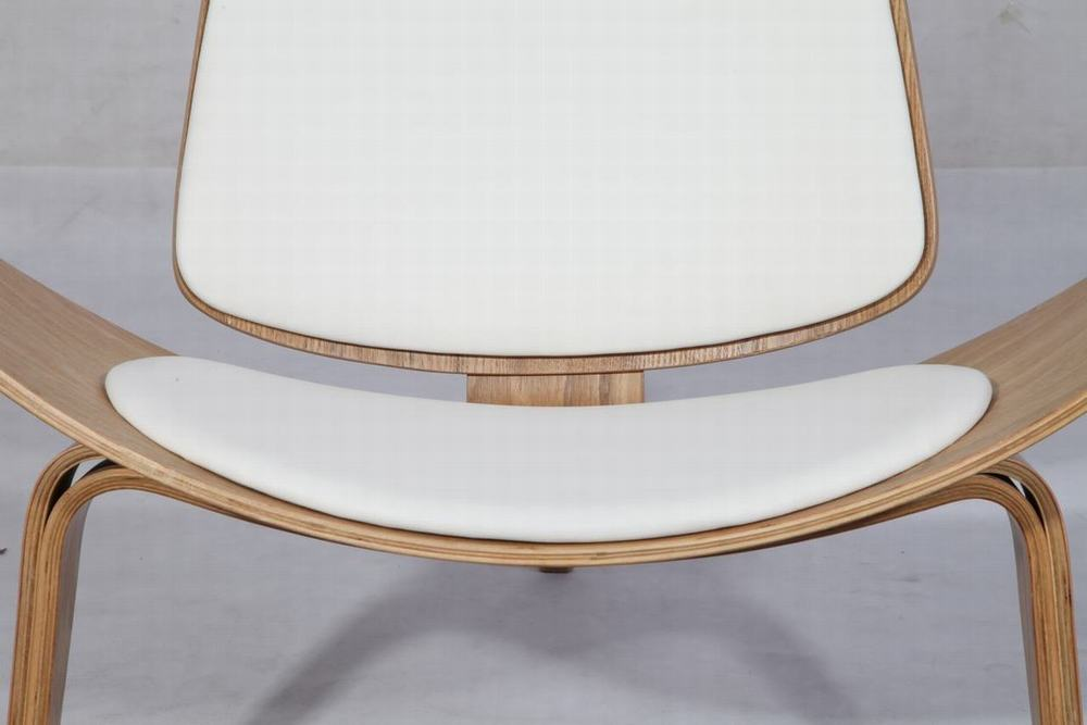 Plywood Shell Chair Leather