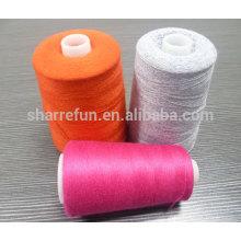 Stock usine 100% laine laine de mouton 2 / 24NM pour le tricot