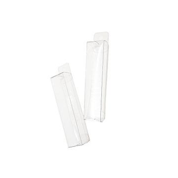 Cajas de regalo de plástico de acetato personalizadas transparentes