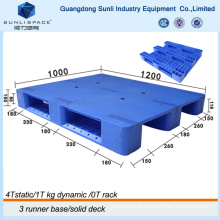 High Quality Euro Size Standard Injection Plastic Pallet