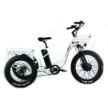 XY-Trio Deluxe Elektro-Dreirad mit Fettreifen für Erwachsene
