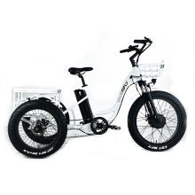 XY-Trio Deluxe fat tire electric tricycle for adults